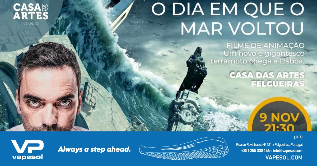 """Miguel Gizzas - """"O dia em que o mar voltou"""" - Felgueiras Magazine"""