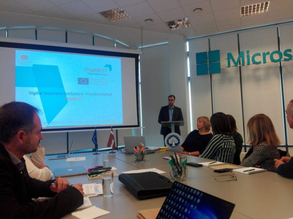 CIM do Tâmega e Sousa participou na reunião de arranque do projeto europeu DigiBEST
