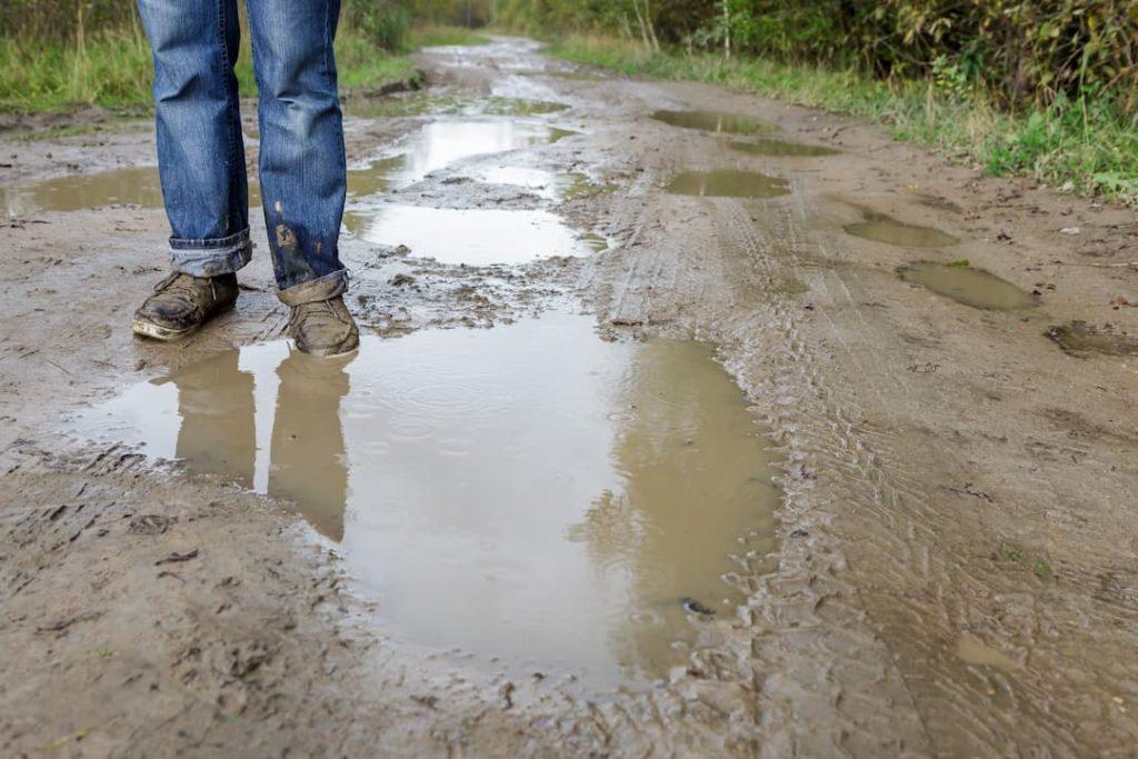 estrada mau estado