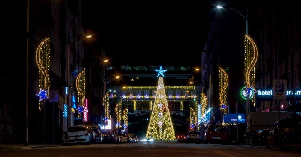 iluminaçao de Natal em Felgueiras 2019