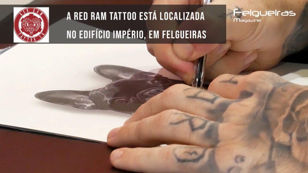 red ram tattoo