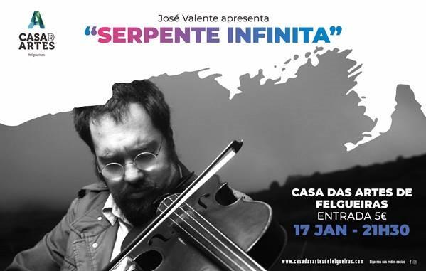 José Valente apresenta Serpente Infinita