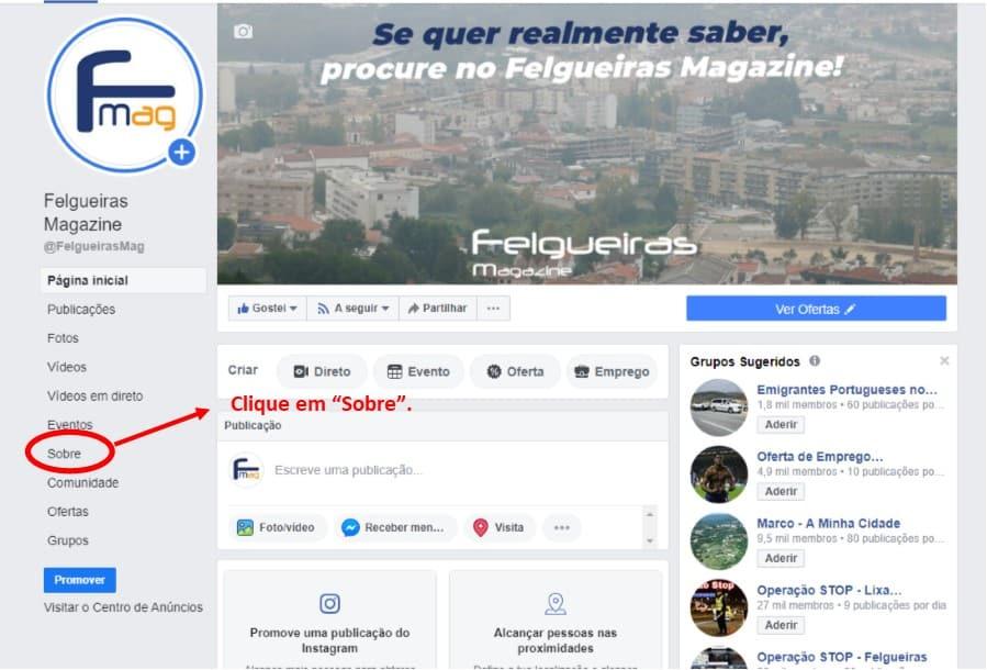 Facebook URL 1