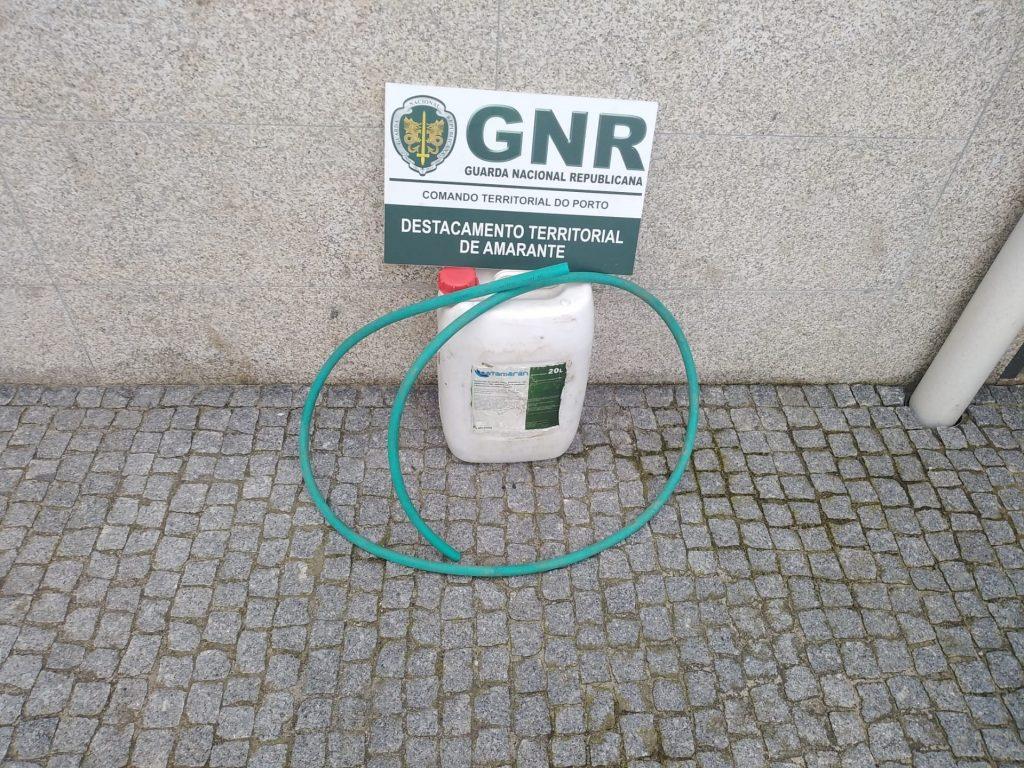 GNR Porto - Furto Gasoleo