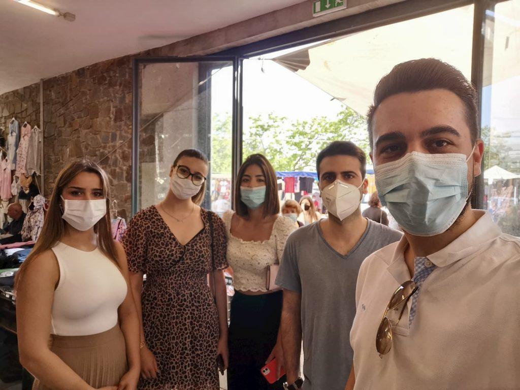 JS Felgueiras esteve presente na reabertura do Mercado Municipal