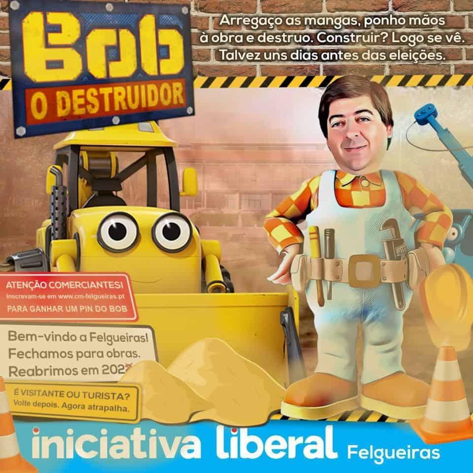 Bob o destruidor Nuno Fonseca Câmara de Felgueiras