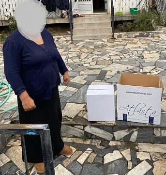 Colaboradores da Atlanta distribuem cabazes de Natal a famílias carenciadas 2