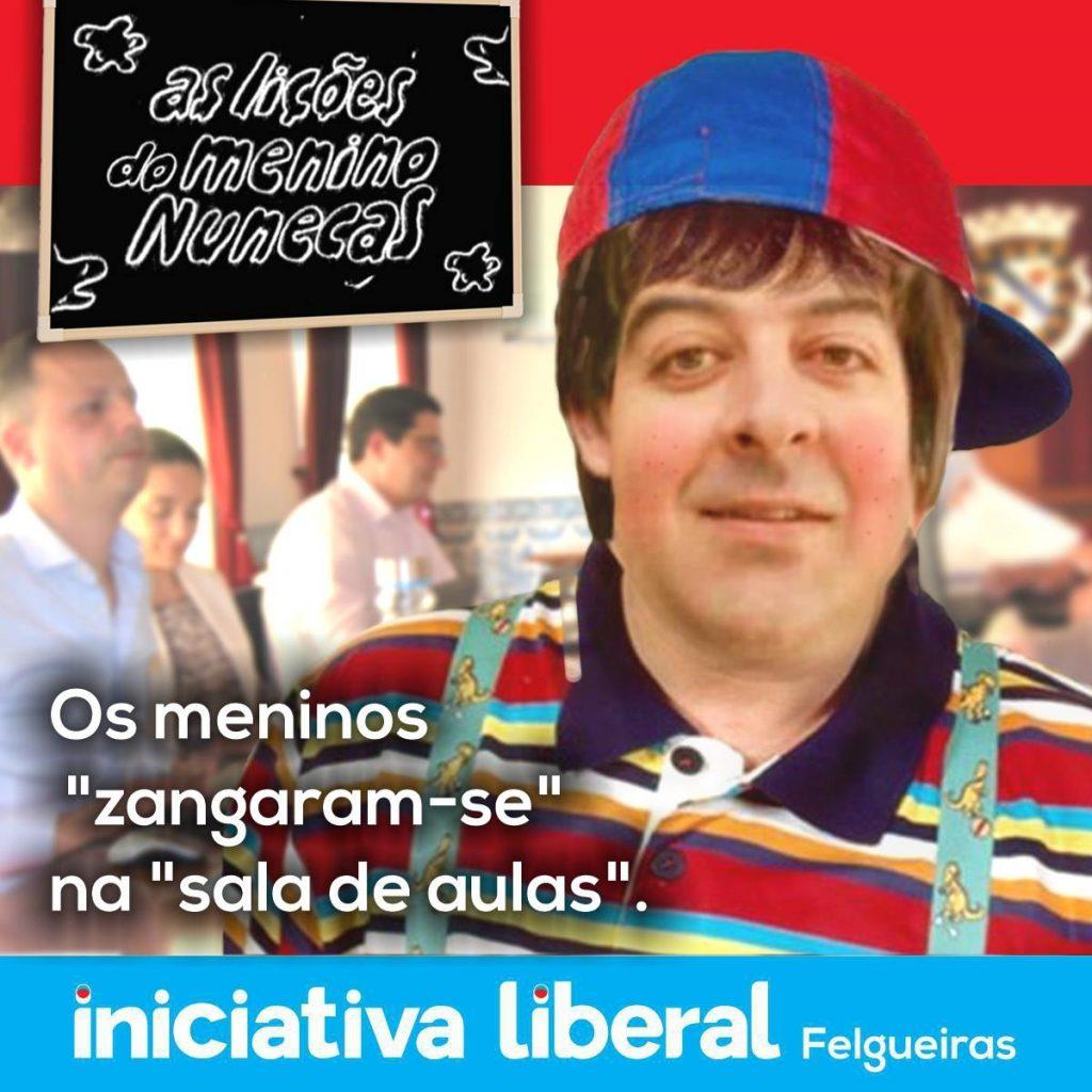 Iniciativa Liberal de Felgueiras bullying