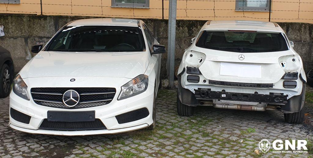 GNR Porto amarante - Apreensão de veículos