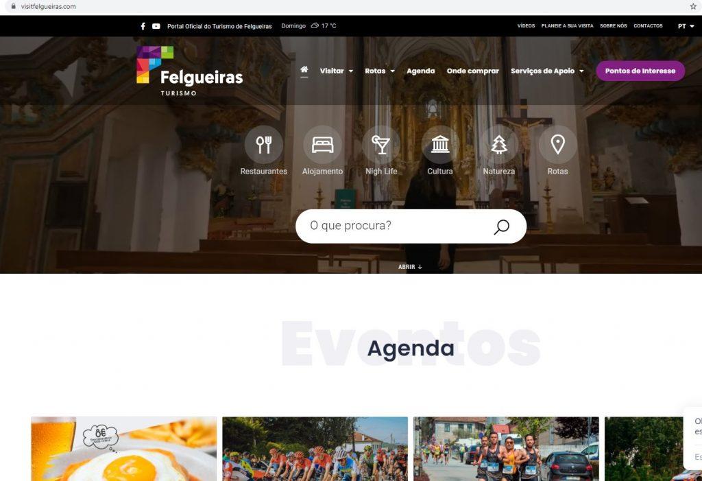 Felgueiras apresenta portal para comunicação digital da oferta turística