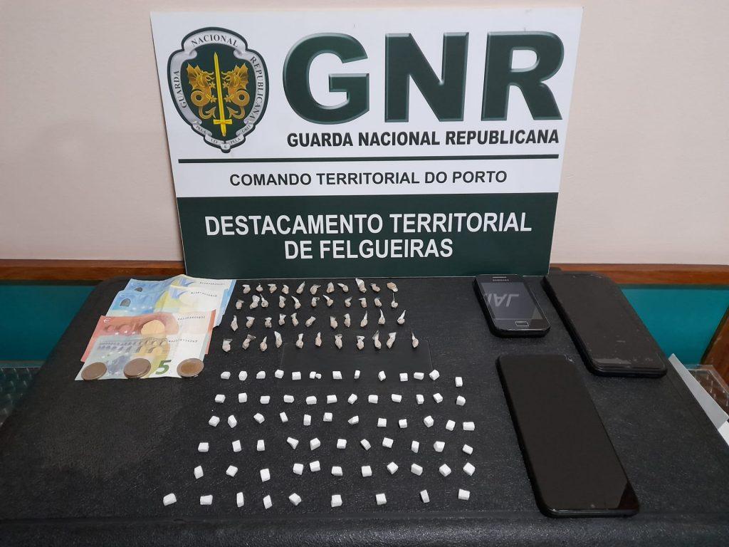 Felgueiras e Paços de Ferreira – Detidos em flagrante por tráfico de estupefacientes