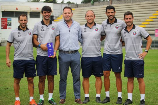 FC Felgueiras vence equipa técnica do mês