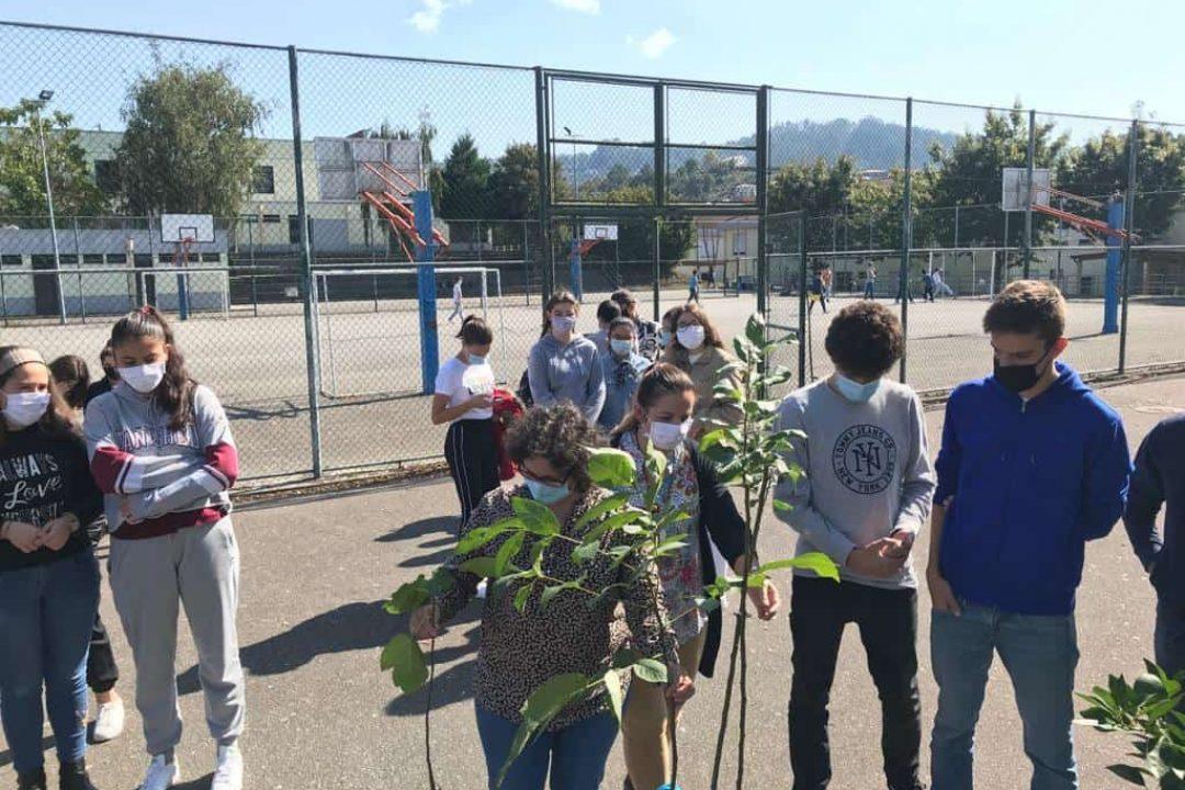 Agrupamento de Escolas de Airães participou em evento que juntou líderes globais e peritos em ação climática.