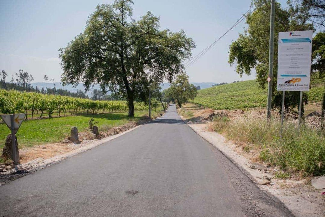 Decorrem as Obras no Caminho Municipal 1181 – Freguesia de Moure