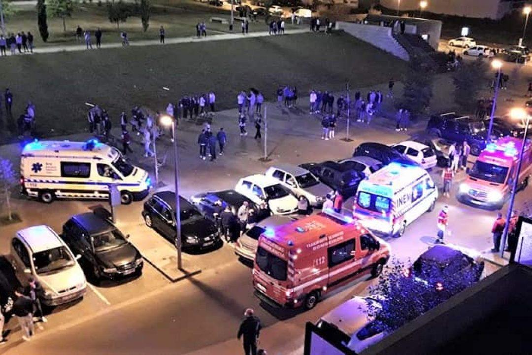 Discussão originou dois feridos na última madrugada na cidade de Felgueiras.