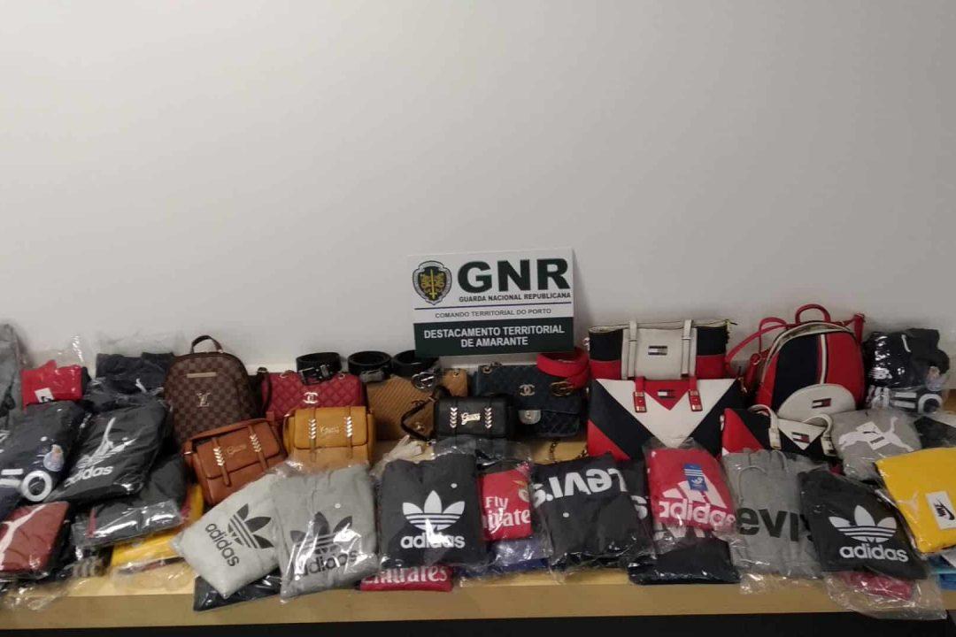 GNR Porto - Artigos Apreendidos