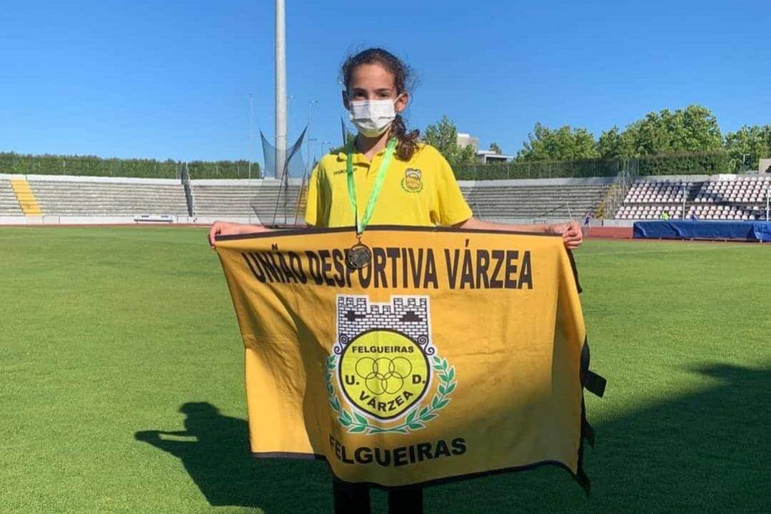 Mariana Moreira Bate recorde Nacional - udvarzea atletismo
