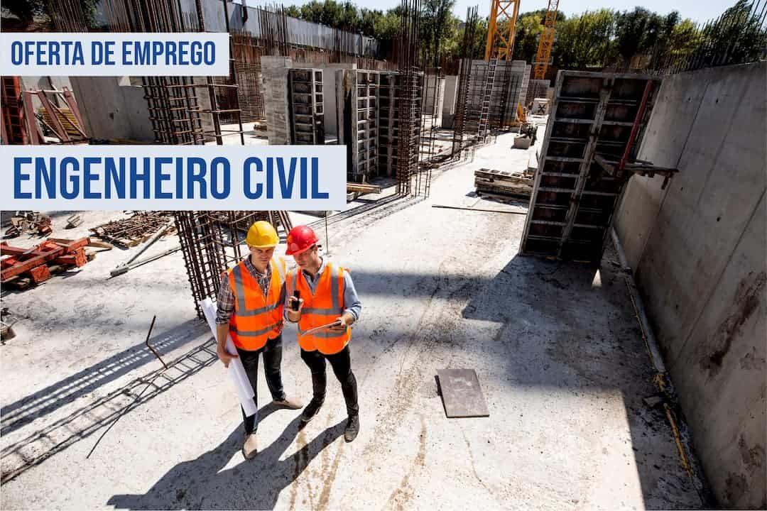 oferta de emprego engenheiro civil